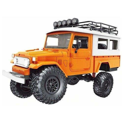 Радиоуправляемая машина MN MODEL японский внедорожник FJ45 (оранжевый) 4WD 2.4G 1/12 RTR