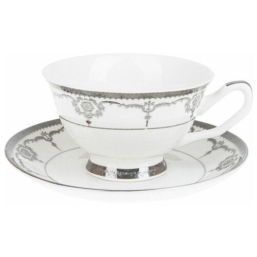 набор чайный best home porcelain indigo 200 мл 4 предмета Набор чайных пар Best Home Porcelain Rochelle подарочная упаковка, 200 мл, 4 предм., 2 персоны