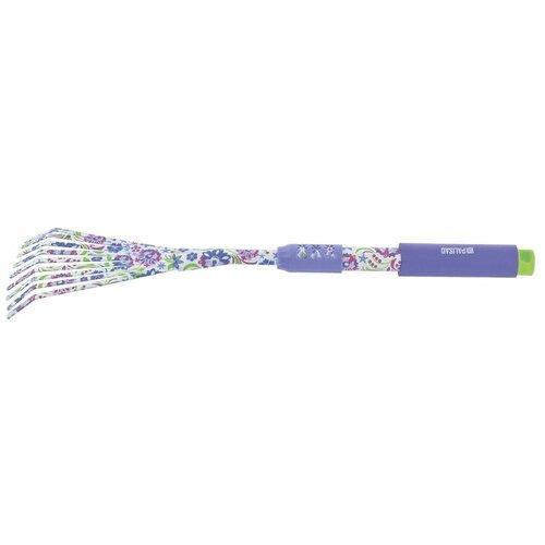 Грабли PALISAD 62050 Flower Mint фиолетовый