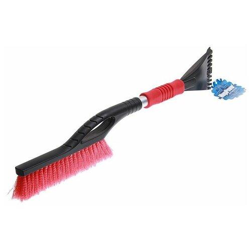 Щетка-скребок MegaPower M-71027 черный/красный