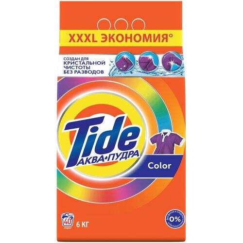 Фото - Стиральный порошок Tide Color (автомат), 6 кг стиральный порошок tide color автомат 4 5 кг
