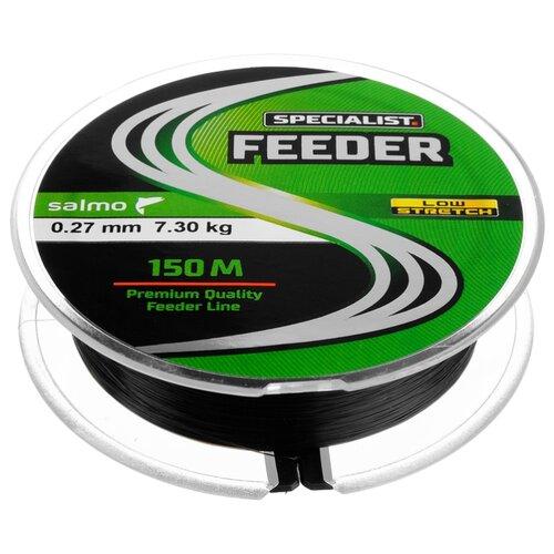 Монофильная леска Salmo Specialist Feeder черный/красный 0.27 мм 150 м 7.3 кг