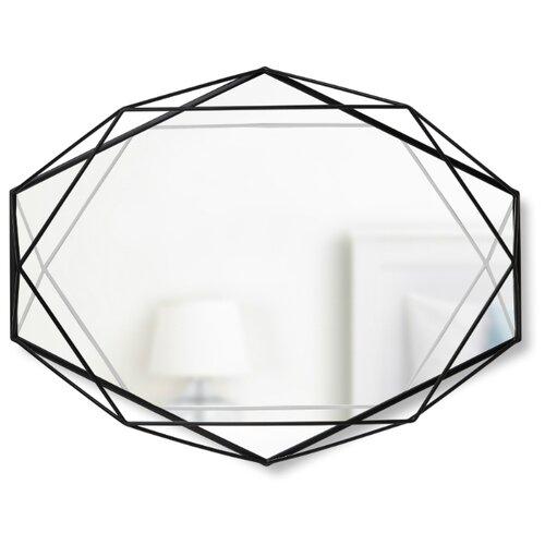 Зеркало настенное PRISMA чёрный зеркало umbra prisma 56х43 в раме