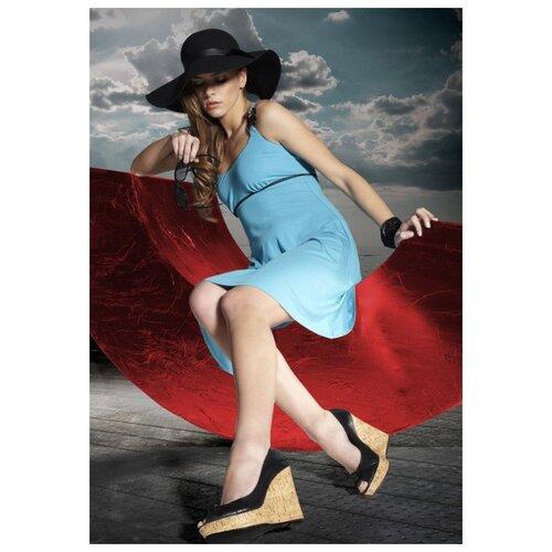 Пляжное платье Miran размер S голубой