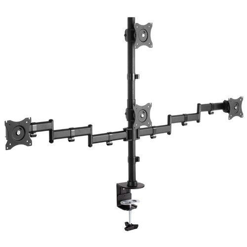 Фото - Кронштейн для мониторов Arm Media LCD-T16 BLACK кронштейн для мониторов arm media lcd t13 black