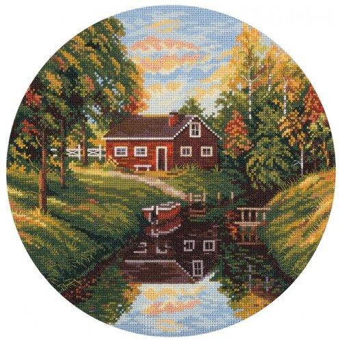 Купить PANNA Набор для вышивания Прозрачная осень 24 x 24 см (PS-1962), Наборы для вышивания