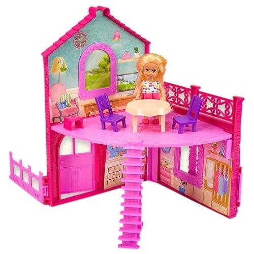 Набор домик с куклой и мебелью Play Smart, K899-101