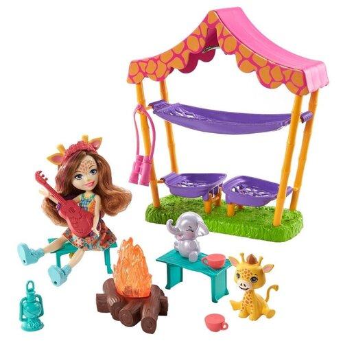 Купить Игровой набор Enchantimals Ночевка в Саванне, GTM33, Куклы и пупсы