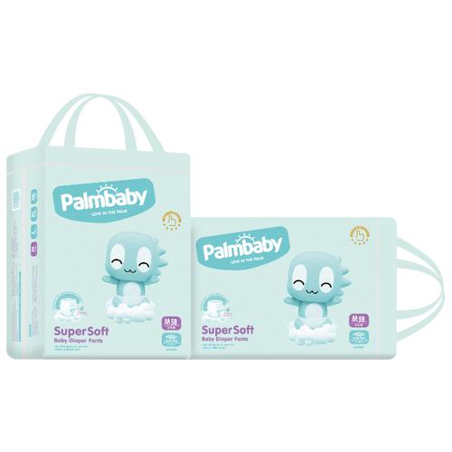 Palmbaby трусики Super Soft Premium M (6-11 кг) 116 шт.