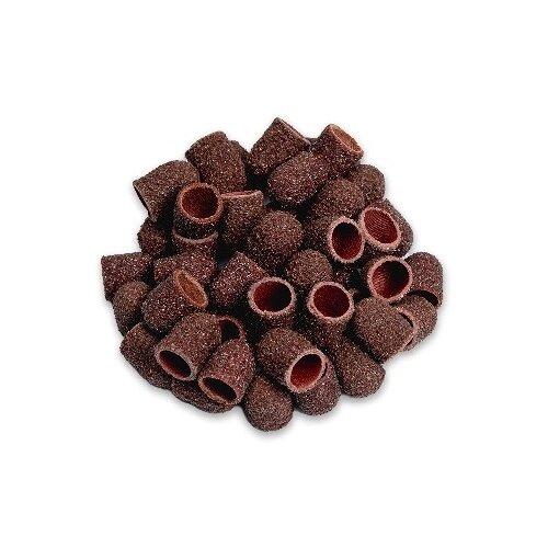 Колпачок Muhle Manikure шлифовальный супергрубый 10 мм, 60 грит, 100 шт., красный muhle manikure колпачок шлифовальный 13 мм тонкий 100 шт