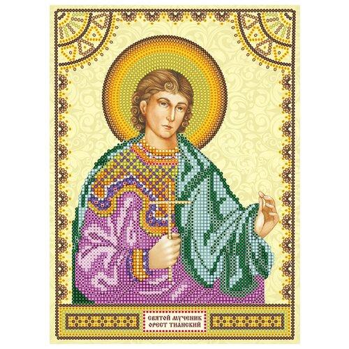Купить ABRIS ART Схема для вышивания бисером Святой Орест 17 х 23 см (ACK-132), Наборы для вышивания