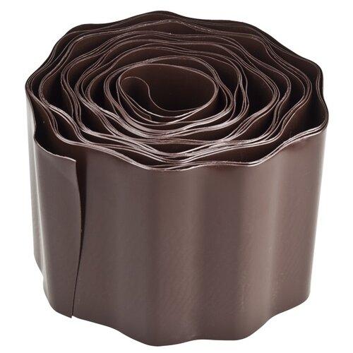 Бордюрная лента GRINDA 422245/422247, коричневый, 9 х 0.2 м