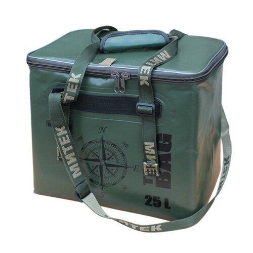 Фото - Сумка-Термос Митек бокс 015л (30х21х29см) с крышкой хаки сумка рыболовная митек с крышкой овал 40х20х40 серый