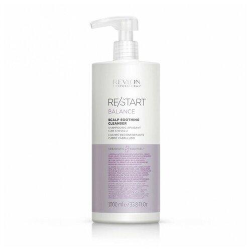 Купить RP RESTART BALANCE SCALP SOOTHING CLEANSER Шампунь мягкий для чувствительной кожи головы, 1000 мл, Revlon Professional