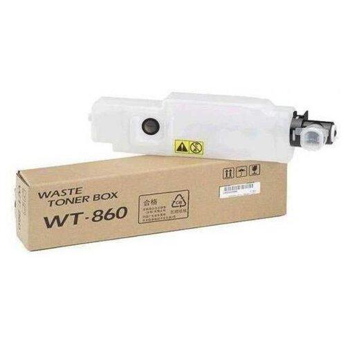 Фото - Контейнер для отработанного тонера Kyocera Бункер отработанного тонера WT-860 для Kyocera FS-C8600dnC8650dn TASKalfa 3500i3501i4500i4501i5500i5501i3050ci3051ci3550ci3551ci4550ci4551ci5550ci5551ci бункер отработанного тонера wt 590