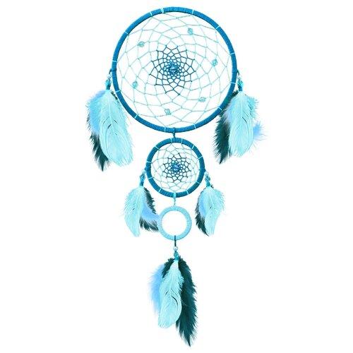 Купить ЛС-01 Набор для творчества Созвездие 'Бирюза'(ловец снов)15, 5х41 см, Топиарии