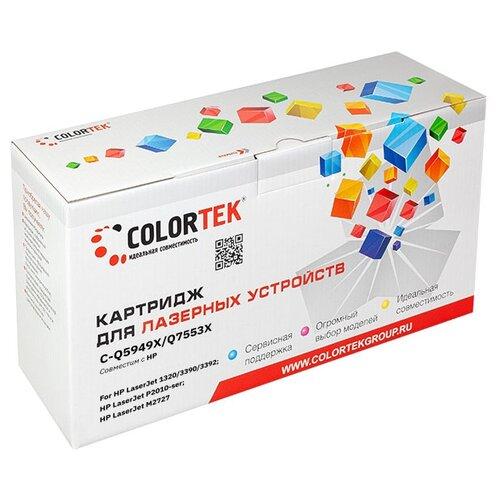 Фото - Картридж лазерный Colortek CT-Q5949X/Q7553X для принтеров HP и Canon барабан hp q5949a q5949x q7553a q7553x canon crg 708