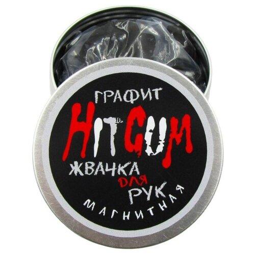 Купить Жвачка для рук HitGum магнитная графит, Игрушки-антистресс
