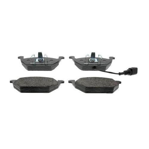 Фото - Дисковые тормозные колодки передние Ferodo FDB1398 для Audi, SEAT, Skoda, Volkswagen (4 шт.) дисковые тормозные колодки передние ferodo fdb1832 для audi a6 audi a8 volkswagen phaeton 4 шт