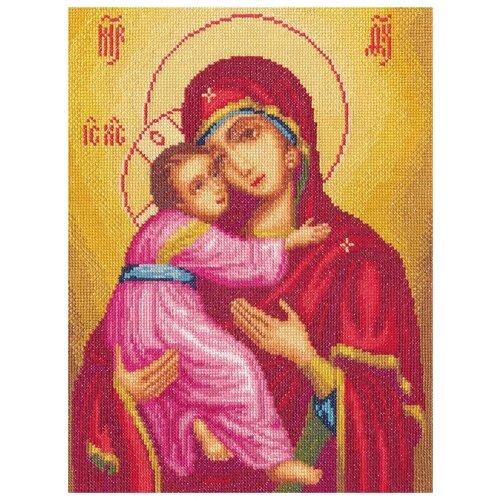 Купить PANNA Набор для вышивания Икона Божией Матери Владимирская 23.5 х 31 см (CM-1323), Наборы для вышивания