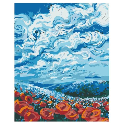 Купить Картина по номерам, 100 x 125, F67, Живопись по номерам , набор для раскрашивания, раскраска, Картины по номерам и контурам