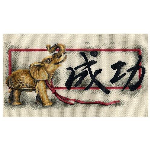 Купить PANNA Набор для вышивания крестиком Благословение, Успех 27 x 15 см (I-1569), Наборы для вышивания