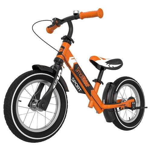 Фото - Беговел Small Rider Roadster Sport 4 AIR, оранжевый кикборд small rider cosmic zoo scooter оранжевый