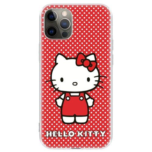 Чехол накладка лицензия Hello Kitty iPhone 12 / 12 Pro айфон 12 / 12 про c принтом 2