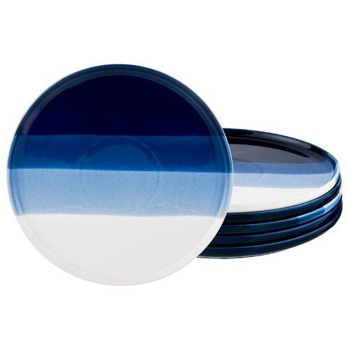 Набор тарелок десертных из 6 шт 25 см коллекция бристоль Lefard (135882)
