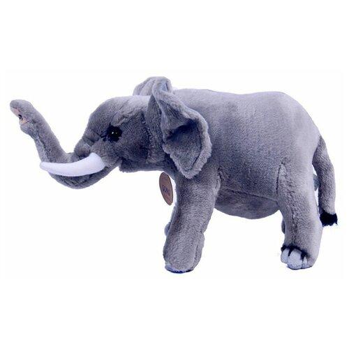 Мягкая реалистичная игрушка слоник Semo, 39 см