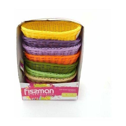Плетеная корзинка овальная Fissman 23 x 12 x 8 см 7677