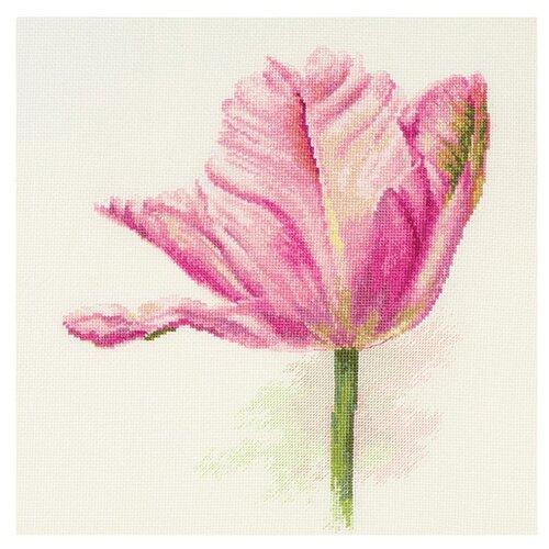 Фото - Алиса Набор для вышивания Тюльпаны. Нежно-розовый 22 x 26 см (2-42) алиса набор для вышивания тюльпаны малиновое сияние 22 x 26 см 2 43