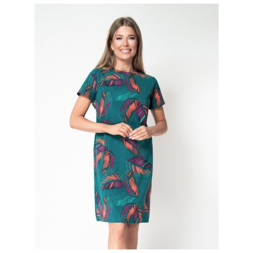 Платье Vis-a-Vis, размер XXL, baltic/orange