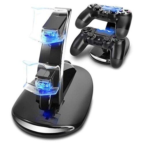 Двойное USB-зарядное устройство/док-станция MyPads для игровой приставки/ геймпадов Sony Playstation 4 / Dualshock 4