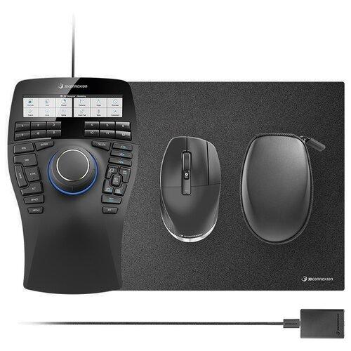 Беспроводная мышь 3Dconnexion SpaceMouse Enterprise Kit 2 черный.
