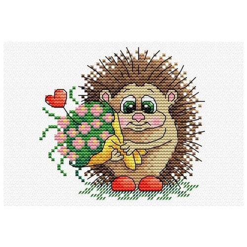 Купить Жар-птица Набор для вышивания К тебе с любовью 10 х 15 см (М-211), Наборы для вышивания