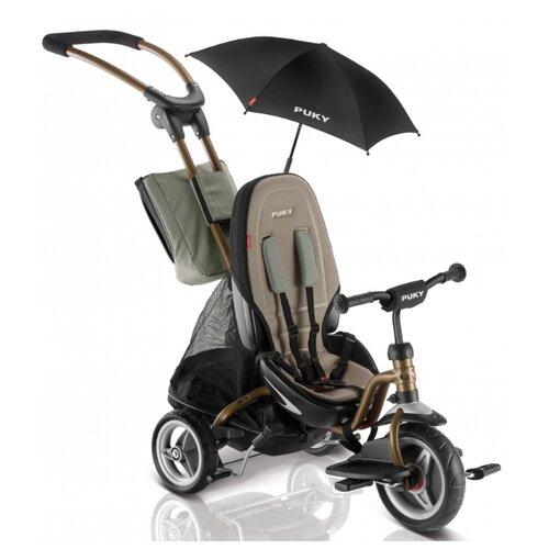 Купить Трехколесный велосипед Puky CAT S6 Ceety (с зонтиком), бронзовый, Трехколесные велосипеды