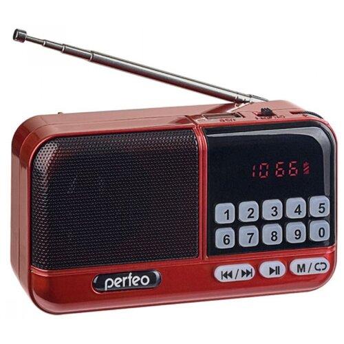 Радиоприемник Perfeo ASPEN FM+ i20 красный