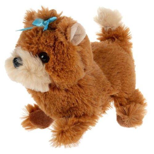 Фото - Интерактивная мягкая игрушка Мой питомец Щенок Ника, коричневый интерактивная мягкая игрушка mioshi active весёлый щенок mac0601 006 белый