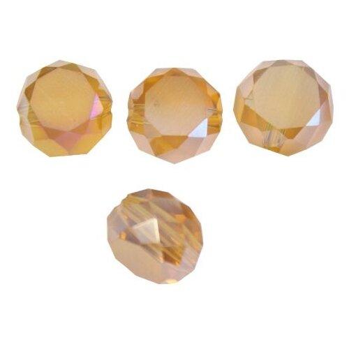 Купить MBZ Бусины стеклянные, 10 мм, упак./20 шт., 'Астра' (M-10), Astra & Craft, Фурнитура для украшений