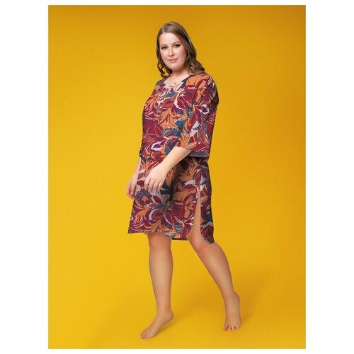 Пляжное платье Vis-a-Vis, размер L/XL, terracotta/blue