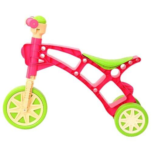 Купить Каталка-толокар Orion Toys Самоделкин (Т3220) зелено-розовый, Каталки и качалки