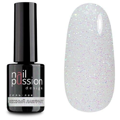 Гель-лак для ногтей Nail Passion Сияние кристаллов, 10 мл, оттенок 4017 Нежный лазурит