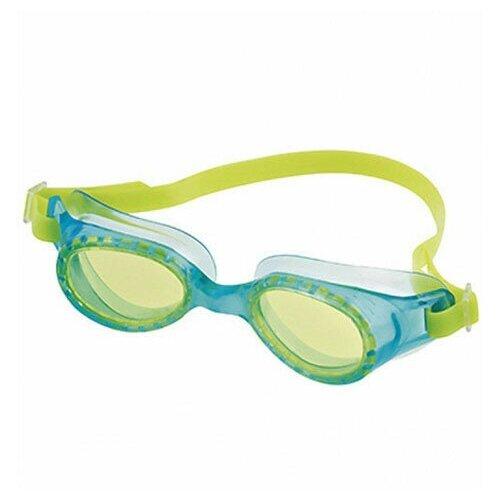 Очки для плавания детские FASHY Rocky Jr, голубые/желтые (4107-00-45)