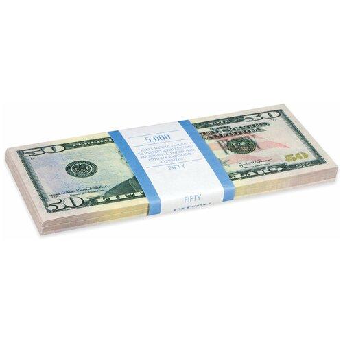 Филькина Грамота Билеты банка приколов 50 долларов, зеленый