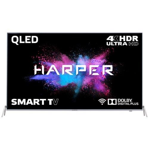 Фото - Телевизор QLED HARPER 55Q850TS 55, серебристый телевизор harper 40 40f660t 40f660t