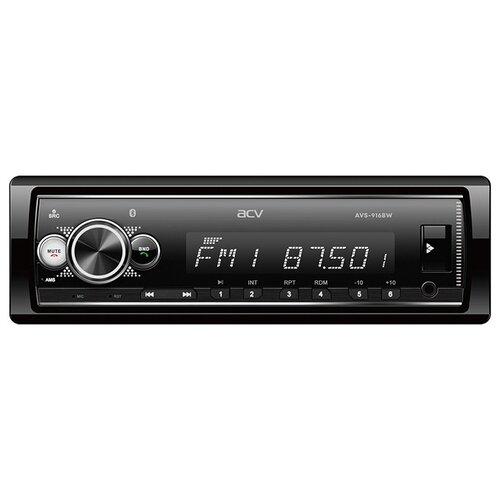 Автомагнитола ACV AVS-916BW, Bluetooth/поддержка приложения ACV RC и ACV Control/белая подсветка