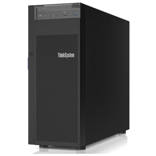 "Сервер Lenovo ThinkSystem ST250 7Y45A03QEA 1 x Intel Xeon E-2224 3.4 ГГц/16 ГБ DDR4/без накопителей/количество отсеков 2.5"" hot swap: 8/1 x 550 Вт/LAN 1 Гбит/c"