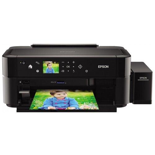 Фото - Принтер Epson L810, черный принтер epson m1170 серый черный