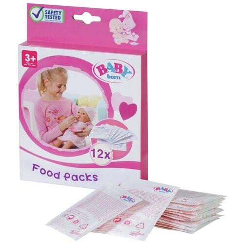 Детское питание Zapf Creation Baby born 12 пакетиков (779-170) белый